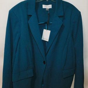 NWT Calvin Klein Womens Blazer size 22W